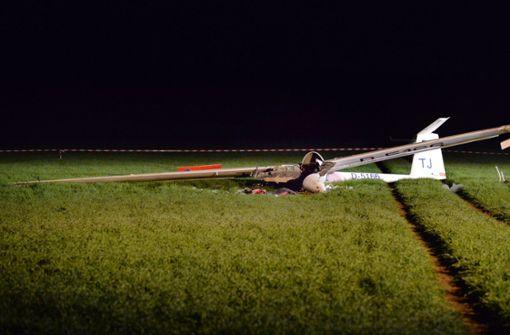 Experten finden keine Mängel an Segelflugzeug