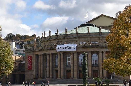 Künstler fordern Freiheit für Serebrennikow