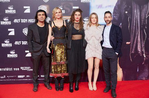Diane Kruger erscheint zur Premiere des neuen Fatih-Akin-Films