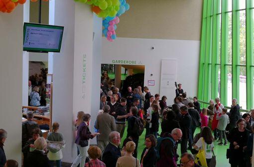 Der Andrang zum Jubiläumsfest der Staatsgalerie Stuttgart groß. Foto: Andreas Rosar