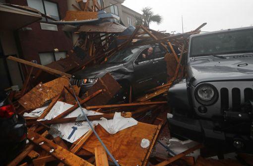 Der Hurrikan sorgte an der Küste Floridas für schwere Verwüstungen. Foto: AP