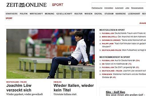 Pressestimmen: Deutschland - Italien