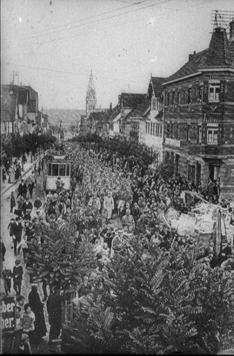 Im August 1914 marschierten die Soldaten des Infanterie-Regiments 126 an die Westfront. Foto: Archiv Winfried Schweikart