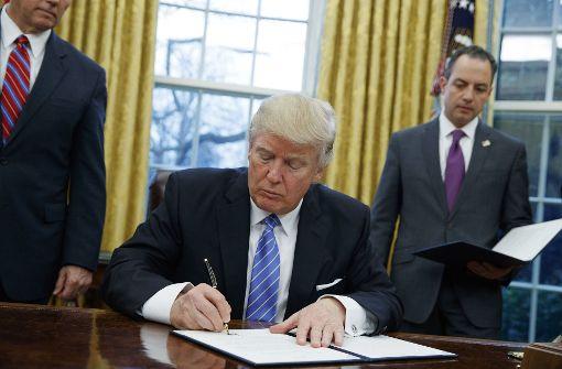 Trump stößt Pazifik-Partner vor den Kopf