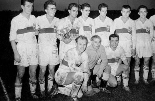 Platz 25: Dieter Praxl war Teil der Pokalsiegermannschaft von 1958, 3 Stimmen Foto: red