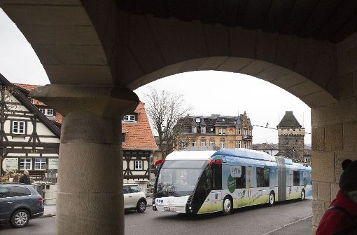 Die Stadt setzt auf Elektrobusse