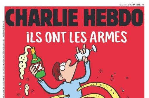 """""""Charlie Hebdo"""" reagiert auf Anschläge"""