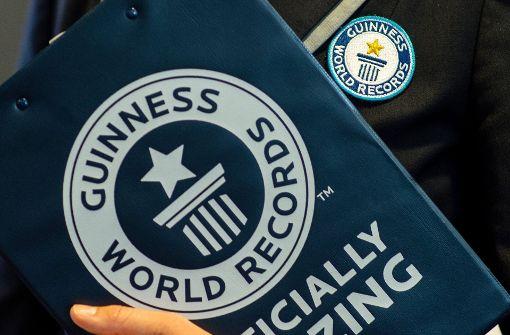 Das neue Guinness-Buch der Rekorde ist da