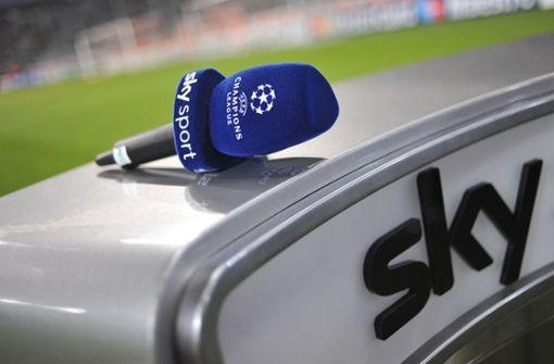 Fußball-Fans verägert: Größere Probleme bei Sky