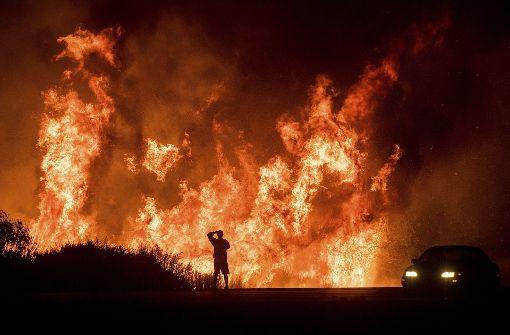 Heftige Feuer wüten auch bei Stars