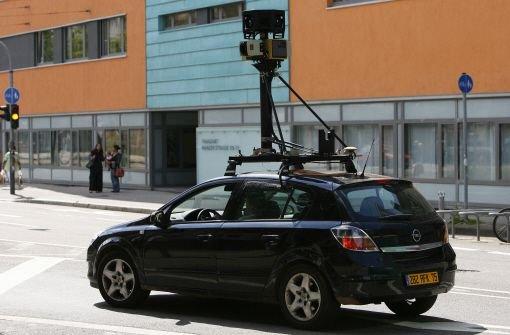 Das Projekt Street View ist sehr umstritten. Foto: dpa
