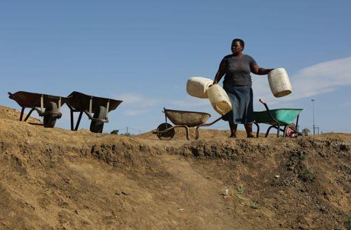 Kapstadts Bürgern droht der Wasserstopp
