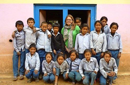 Für drei Monate Lehrerin in Nepal