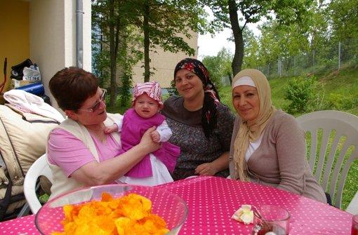 Baby hüten und Türkisch lernen