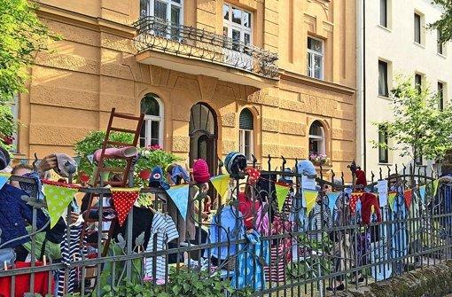 So sieht es in München bei den Hofflohmärkten aus Foto: René Götz