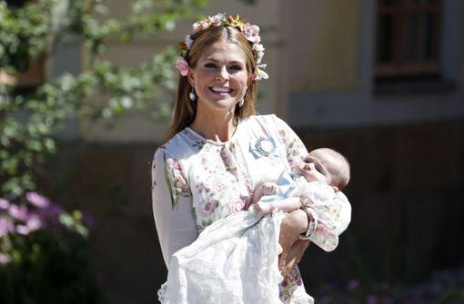 Madeleines Prinzessin Adrienne getauft