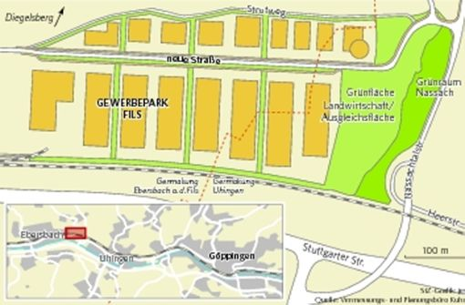 Streit um Gewerbepark bei Ebersbach