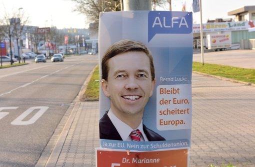 Die Polizei ermittelt gegen unbekannt wegen Bedrohungen von Mitgliedern der Partei Alfa, die unter anderem von Bernd Lucke gegründet wurde. Foto: Getty
