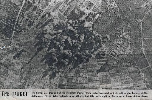 Mehr als 40.000 Bomben fielen auf das Werk