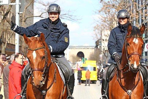 Wird die Polizei in Baden-Württemberg bei Fasnachtsumzügen in diesem Jahr mehr Präsenz zeigen? Foto: www.7aktuell.de   Daniel Jüptner