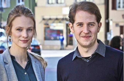 Ria Rehberg und Hendrik Haßel sind seit mehreren Jahren Veganer aus Überzeugung. Mit Animal Equality setzen sie sich für die Rechte von Tieren ein. Foto: Peter Petsch