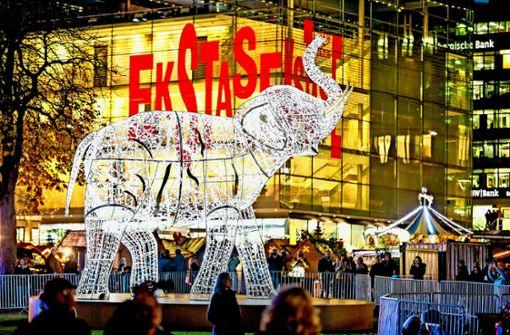 Ist das große Leuchten von Stuttgart klasse oder kitschig?