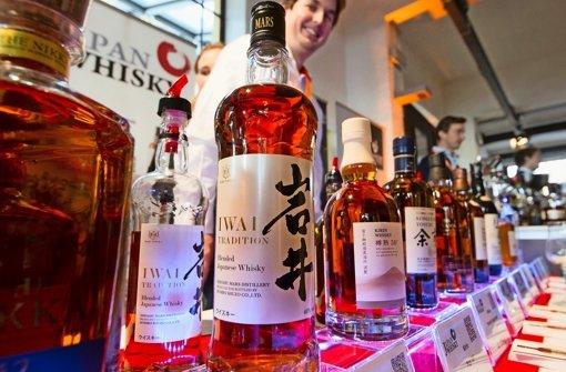 Japanischer Whiskey gilt manchen als Wertanlage Foto: Lichgut Christian Hass