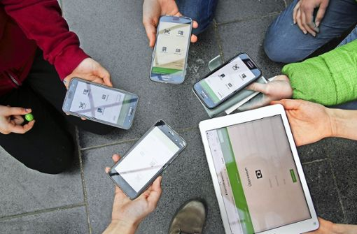Die Geldgeschäfte laufen mit Hilfe einer eigens programmierten App  digital. Foto: privat