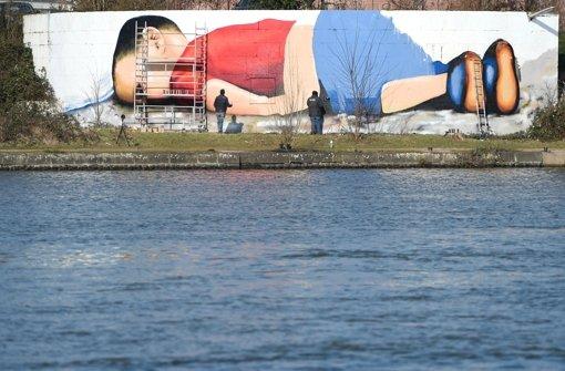 Graffiti zeigt ertrunkenen Flüchtlingsjungen