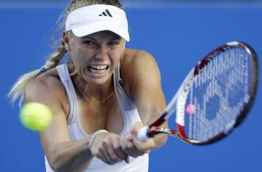 Wozniacki fliegt in der ersten Runde raus