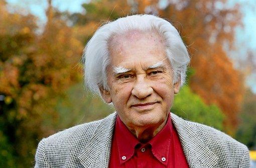 Jörg Zink hat schon 21 Millionen Exemplare seiner Bücher verkauft. Das nächste hat er bereits geschrieben. Foto: epd