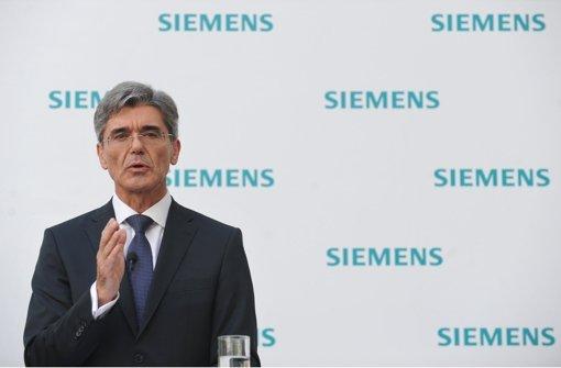 Siemens-Chef beruhigt Beschäftigte