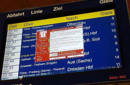 IT-Attacke auch in Berlin: Hacker stören Infotafeln im Hauptbahnhof