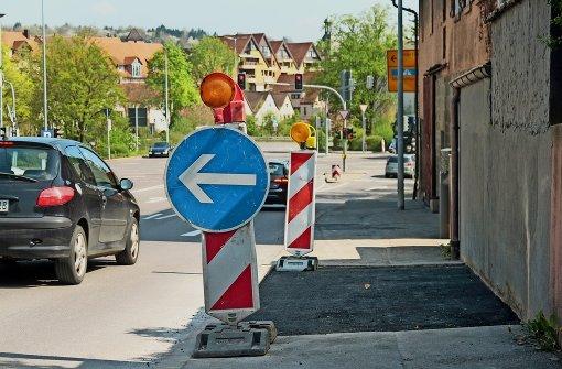 In Bietigheim-Bissingen sind derzeit viele Gehwege eine Baustelle. Foto: factum/Granville