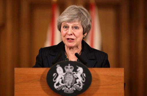 Muss Theresa May nun abtreten?