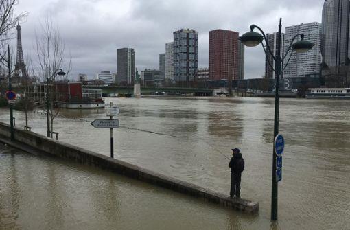 Angespannte Hochwasserlage – Pegel steigt stetig