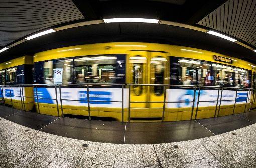 Stuttgarter Straßenbahnen im Trump-Modus