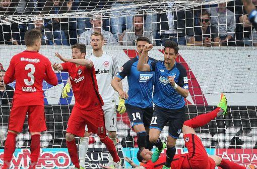 TSG Hoffenheim mit Last-Minute-Sieg gegen Eintracht Frankfurt