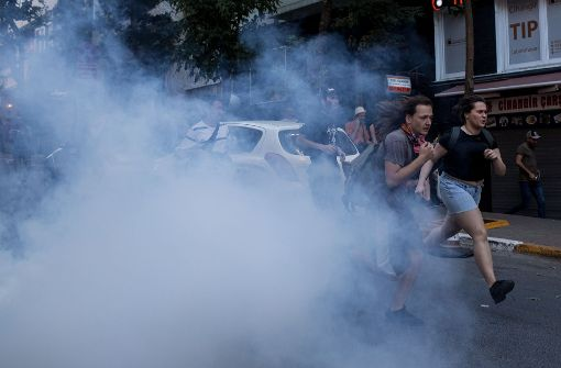 Türkei setzt Tränengas ein
