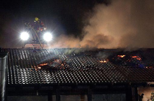 Die Feuerwehr war am Mittwochabend in Metzingen im Einsatz. Foto: 7aktuell.de/Alexander Hald