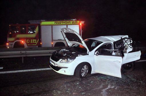 Autofahrerin stirbt bei Unfall auf A8