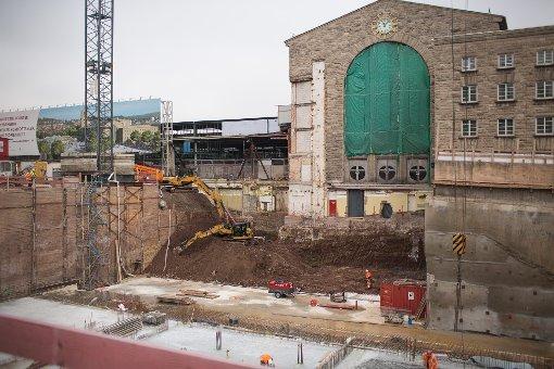Die umstrittenste Baustelle Deutschlands: Der Stuttgarter Hauptbahnhof Foto: www.7aktuell.de | Florian Gerlach