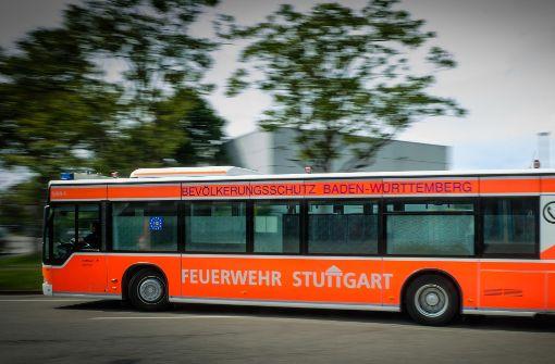Der Großraum-Rettungstransportwagen  steht in der  Feuerwache 5 in Degerloch. Foto: Lichtgut/Achim Zweygarth