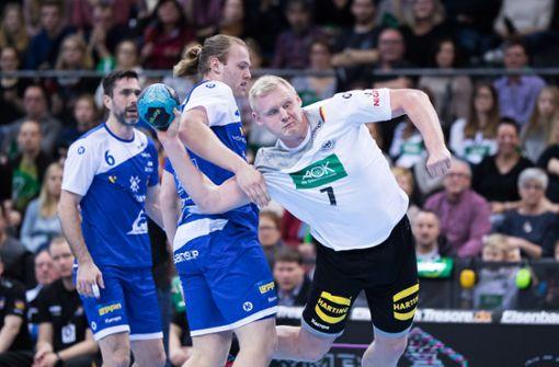 Deutsche Handballer mit klarem Sieg gegen Island