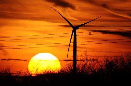 Viele Windräder sollten in Landschaftsschutzgebieten errichtet werden Foto: dpa