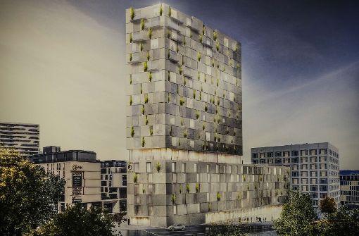 Jury wählt begrünte Fassade für Hotels