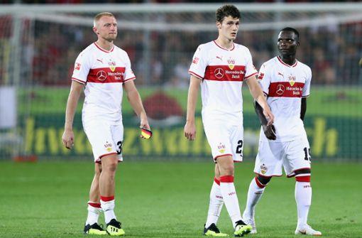 Dieses VfB-Trio kommt bei den Fans nicht gut weg