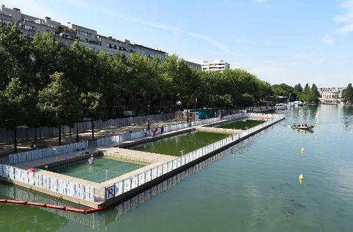 Freibad im Kanalbecken eröffnet