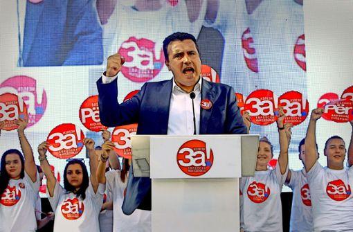 Mazedoniens Premier Zaev will den Kompormiss mit Athen – und die Eintrittkarte nach Europa. Foto: AP