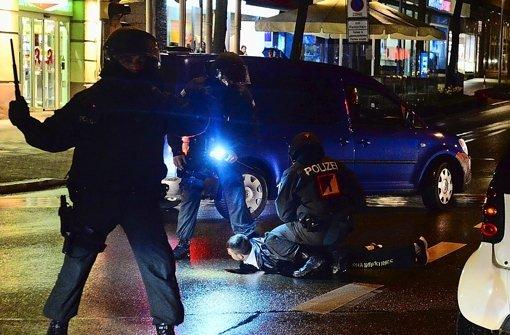 Bandenrandale: Festnahmeaktion in Ludwigsburg Foto: 7aktuell.de/Eyb